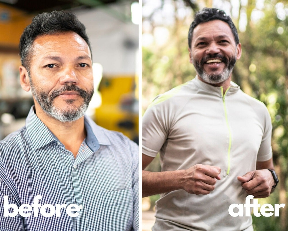 Sermorelin Results Before and After, Franko 48 yo
