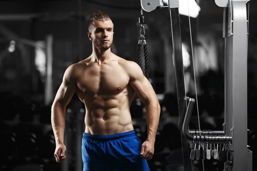 Males Muscle Development and Before and After Pictures After HGH Therapy